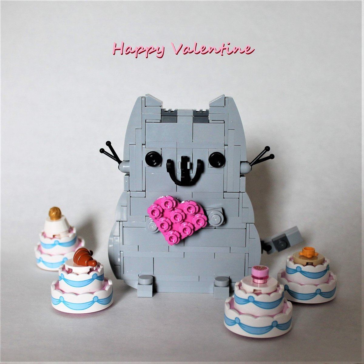 Pusheen Fan art Valentine