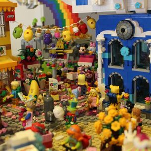Princess Unikitty´s Willage City Center