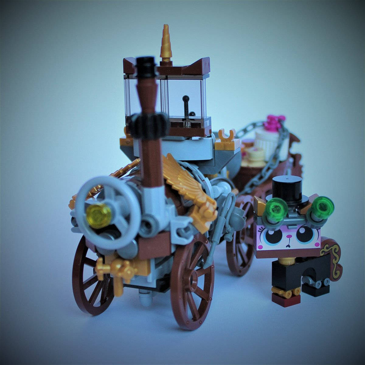 Unikitty Steampunk Car