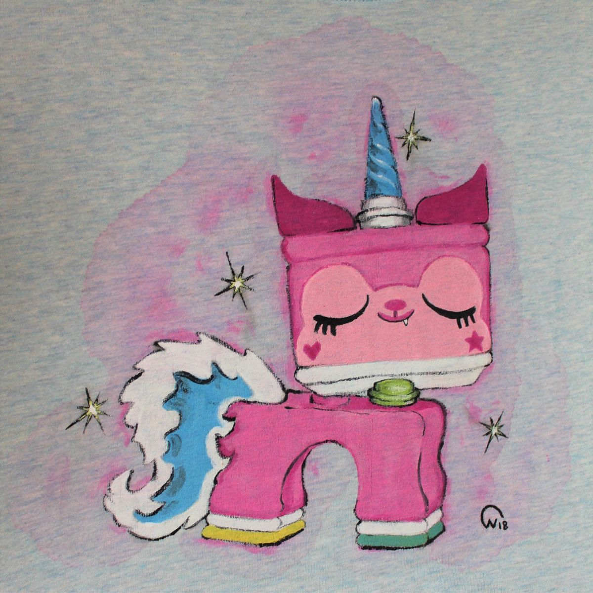 Prinsessan Unikitty, kawaii